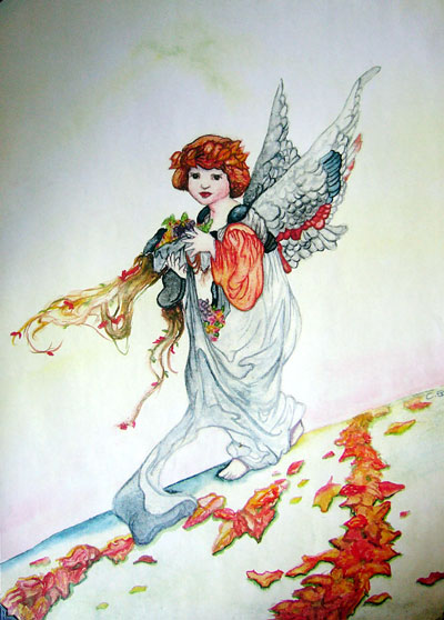 Fall Harvest | Illustration | Christel's Design Studio
