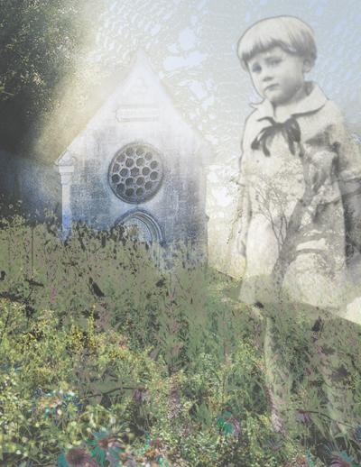 Innocence (Sadly Beautiful Series) | Digital Collage | Christel's Design Studio