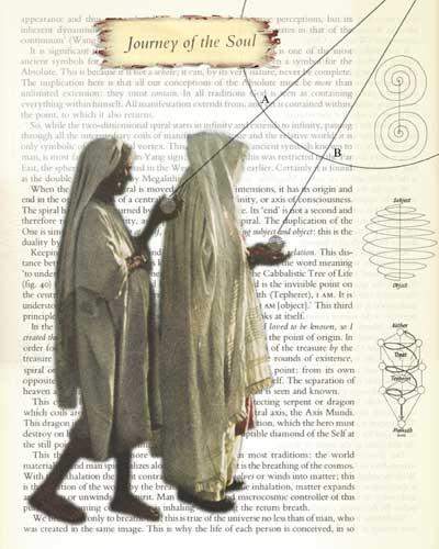 Journey of the Soul | Digital Collage | Christel's Design Studio