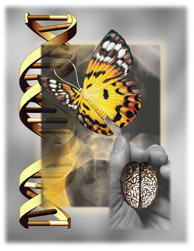 Miracles of the Helix | Digital Collage | Christel's Design Studio