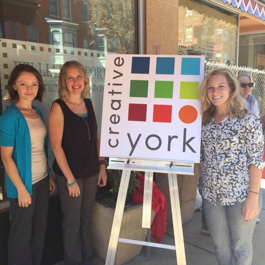 Creative York Team Members Grand Re Opening